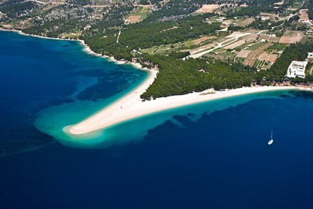 Zlatni rat - Golden Cape beach